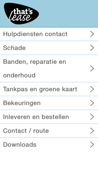 That's Lease Berijders App