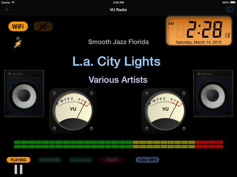 VU Radio - iPad edition iPad Screenshot 1