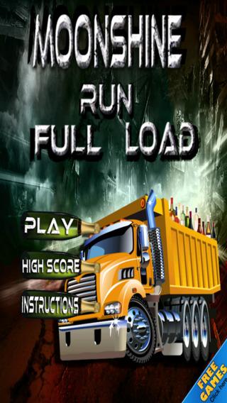 Moonshine Run: Full Load Runner Truck Racing Free