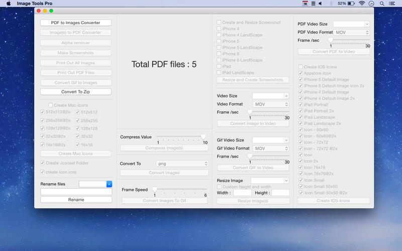 Image Tools Pro Screenshot - 2
