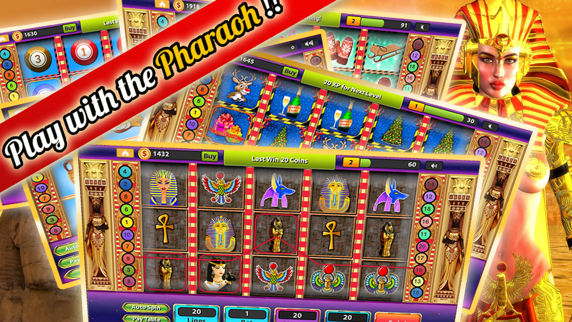free coins for pharaohs slots