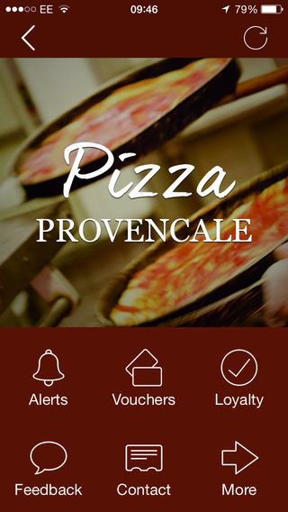 Pizza Provencale Bristol
