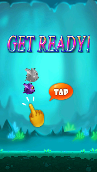 Flying Bat - a fun free game for kids