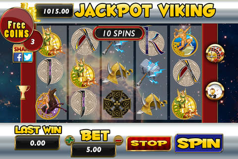 ````````````` 2015 ````````````` AAAA Aaron Jackpot Viking Slots - Roulette - Blackjack 21# screenshot 2