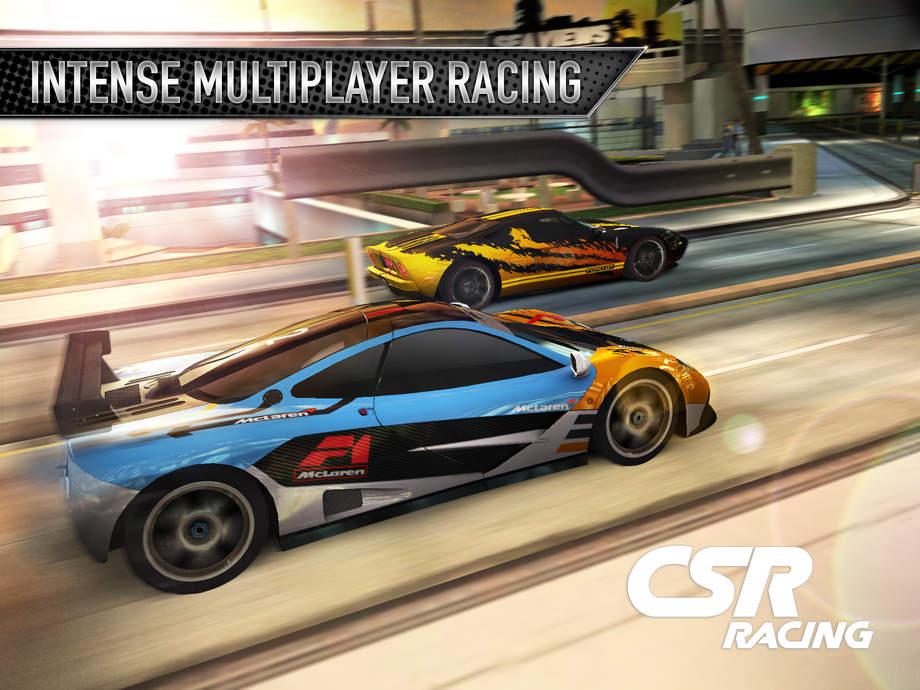 CSR Racing - iPhone Mobile Analytics and App Store Data