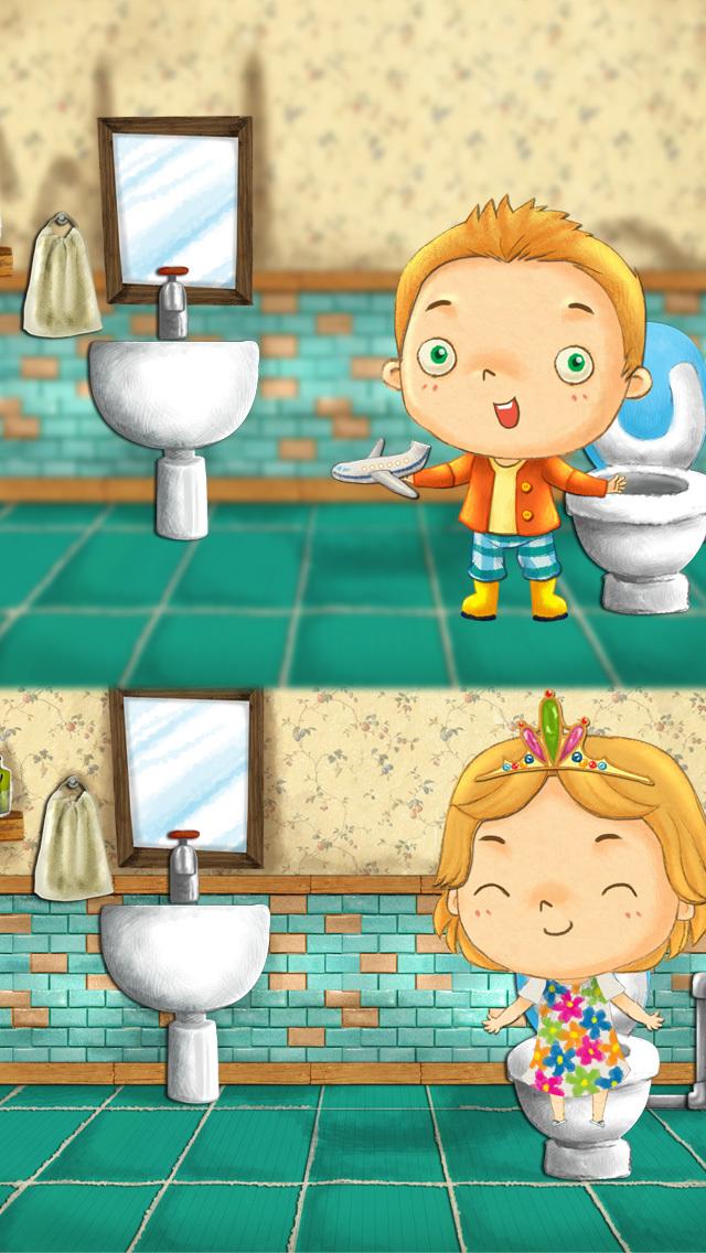 宝宝如厕训练,小动物们会让你的宝宝在正确的情绪下成功进行如厕训练,让早期那些不确定的岁月立刻远去!  -完美得宝宝如厕训练应用程序 -用有趣的互动方式教你的孩子自主上厕所 -为如厕训练树立正面的情绪 -让这令人沮丧的任务变得有趣且互动 -孩子们会喜欢这款应用程序,包括里面的故事和角色 -它让孩子们在带动物上厕所的时候扮演积极的角色,从而让孩子们准备好自己上厕所.