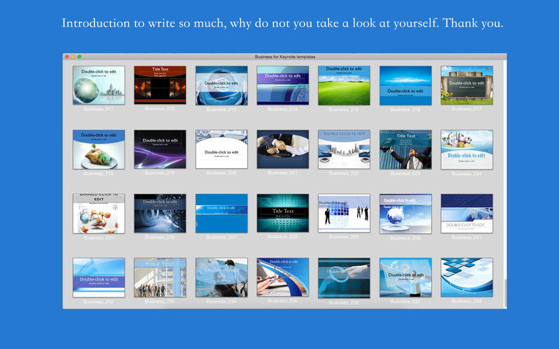 Business for Keynote templates Screenshot - 1