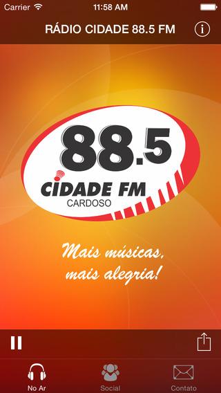 Rádio Cidade 88.5 FM Cardoso