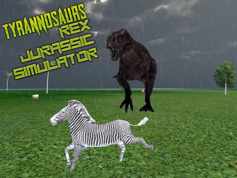 玩遊戲App|Tyrannosaurus Rex Jurassic Simulator Jungle Hunt免費|APP試玩