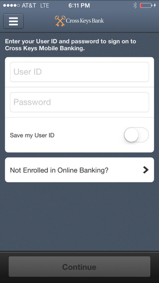 Cross Keys Bank - CKB Mobile Banking
