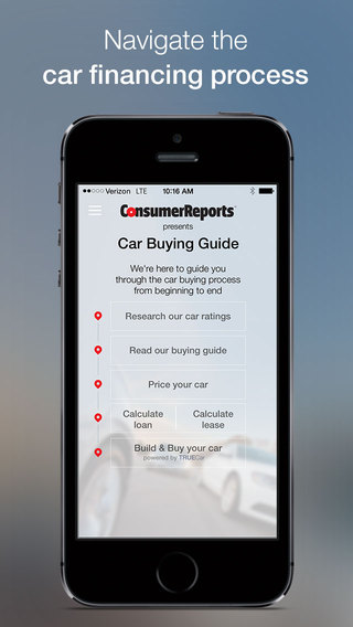 Car Buying Guide by Consumer Reports
