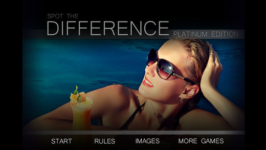 Spot the Difference Image Hunt Game -Platinum Edition - Free HD version