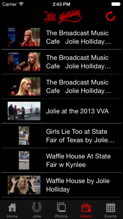 Jolie Holliday iPhone Screenshot 4