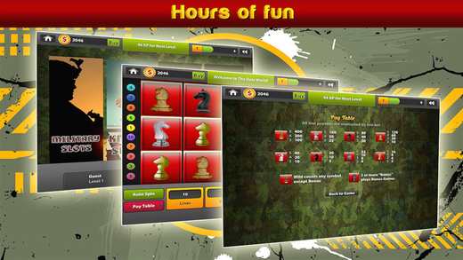 Military Slots - The Ultimate Casino App