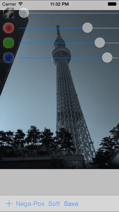 ImageMonochrome iPhone Screenshot 1