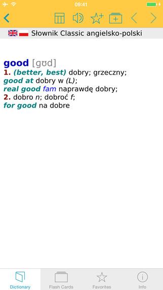 Słownik CLASSIC angielskopolski