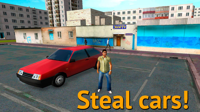 Russian Crime City: Car Theft 3D