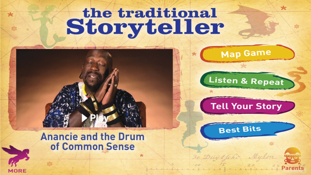 The Traditional Storyteller - Anancie and the Drum of Common Sense