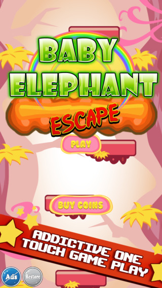Baby Elephant Zoo Escape HD - Fun Game For Kids Boys and Girls