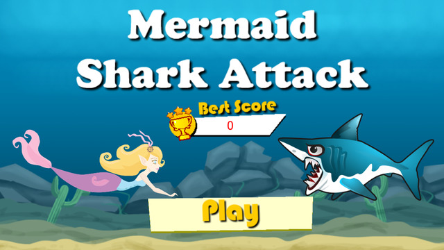 Mermaid Shark Attack