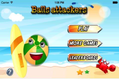 Balls Attackers Pro : Adventure Fun And Action screenshot 1
