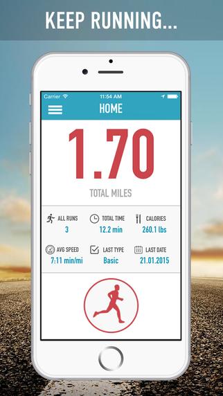 KeepMyRun Pro: GPS Running Walking Cycling Workout