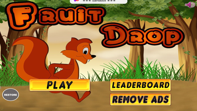 Fruit Drop : Catch Falling Fruits and Nuts