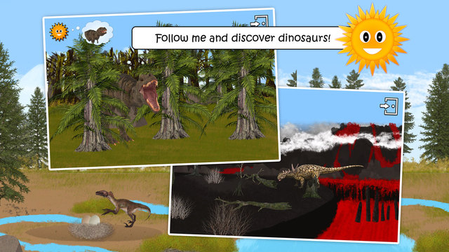 Find Them All: Dinosaurs Prehistoric and Ice Age Animals Full version - Educational game for kids wi