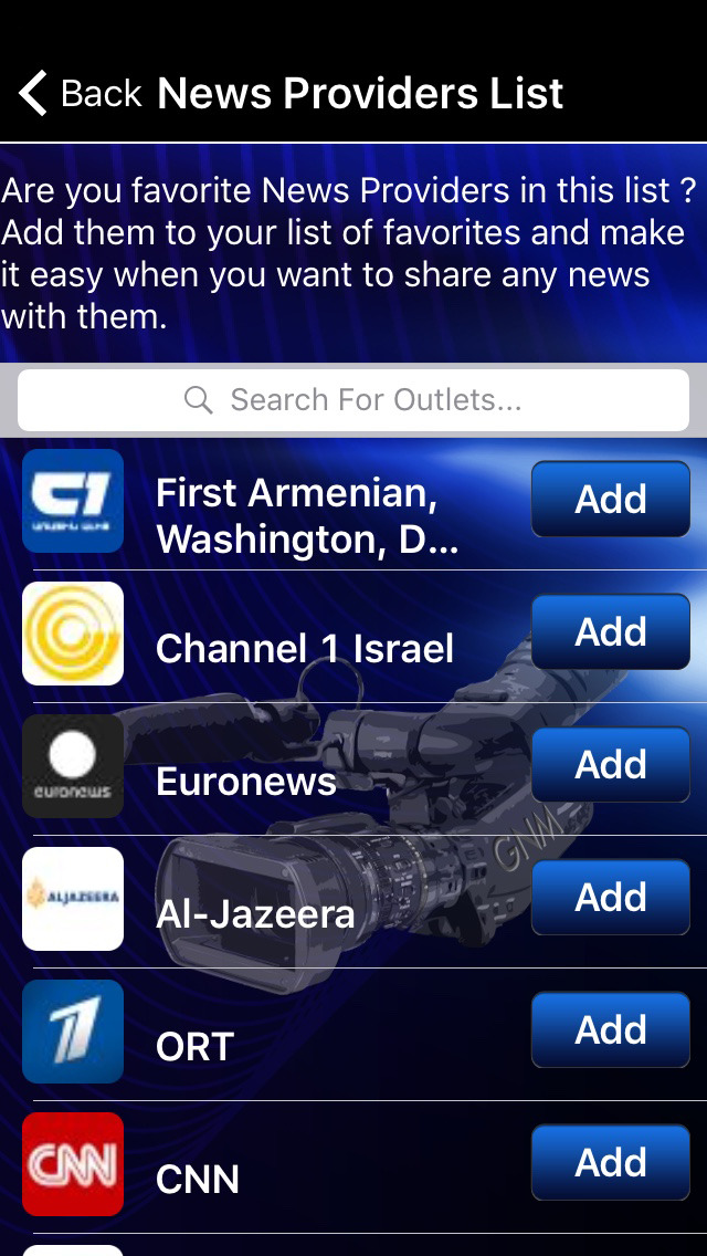 GlobalNewsmen screenshot
