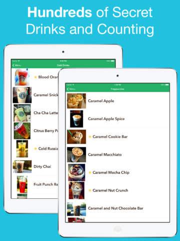 玩免費生活APP|下載Secret Menu for Starbucks - Discover secret drinks (Coffee, Frappuccino, Tea, Hot and Cold Drinks Recipes) app不用錢|硬是要APP