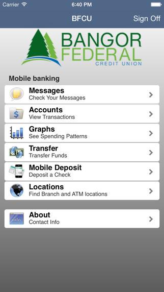 Bangor Federal cuMobile Banking