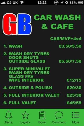 Gb Carwash and Cafe, Manchester screenshot 1