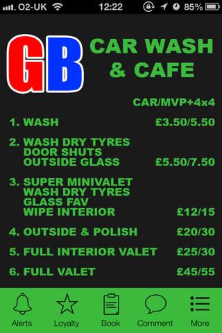 Gb Carwash and Cafe, Manchester screenshot 1