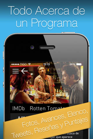 YO.TV Colombia Guía de TV screenshot 3