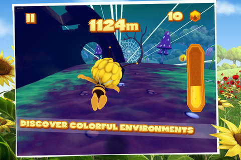 Maya The Bee: Flying Challenge screenshot 3