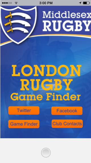 London Rugby Game Finder