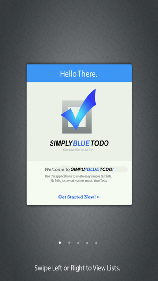 Simply Blue ToDo - Your true blue todo list