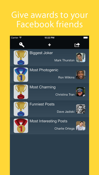 Awards for Friends - Free