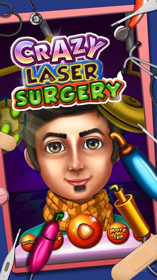 Crazy Laser Surgery – Hospital adventure game for little surgeons
