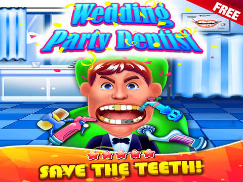 玩免費教育APP|下載Wedding Party Dentist - doctor's fashion salon & little kids teeth make-up app不用錢|硬是要APP