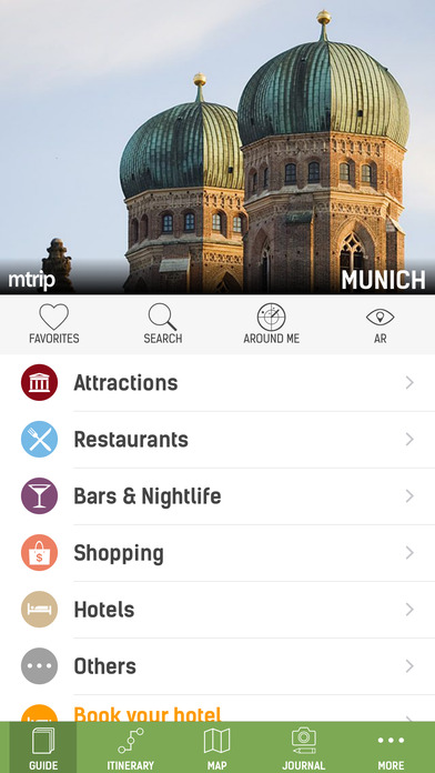 Munich Travel Guide (with Offline Maps) - mTrip Screenshots