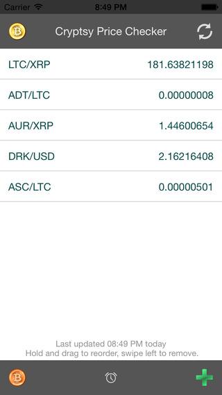 Cryptsy Price Checker