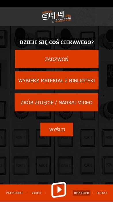 Szczecin.fm iPhone Screenshot 2