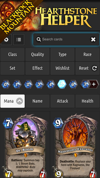 Card Browser for Hearthstone - FREE