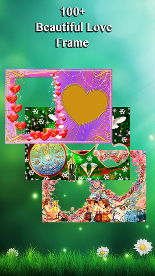 Love Frame- the Best Photo Frame Photos Collage Filter Effect styles Caption Funny Sticker Capture F