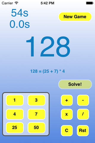 NumberWiz screenshot 2