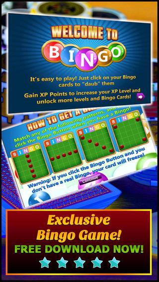 Bingo Day - Play no Deposit Bingo Game for Free with Bonus Coins Daily