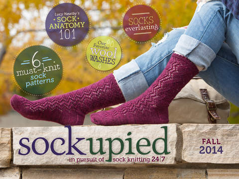 Sockupied sock knitting eMag