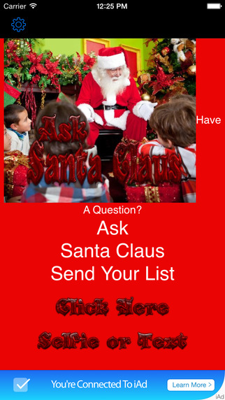 Ask Santa Claus App