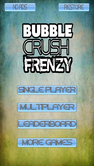 Bubble Crush Frenzy - Match Three Mania: Match the candy bubbles to complete the saga.